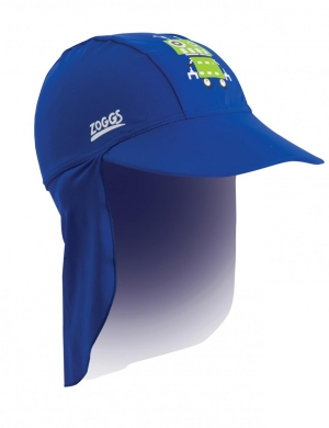 Zoggs Fun Bots Sun Protection Hat (1 - 6 years)