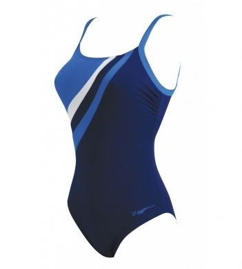 Zoggs Ladies Avalon Navy Swimsuit