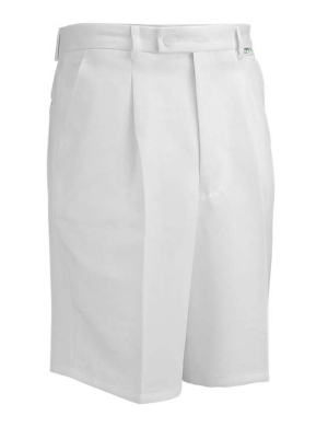 Emsmorn Bowls Mens Shorts White
