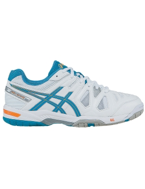 Asics Womens Gel-Game 5 Blue/White