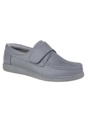 Dek Bowls U9529G Velcro Shoes Grey
