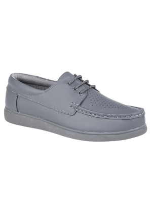 Dek Bowls U9530G Lace Up Shoes Grey