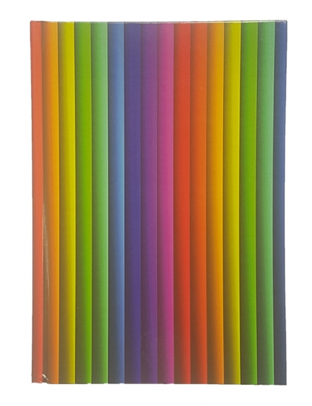 Stationery New A5 Casebound Create Your Rainbow Lined Notebook Hardback