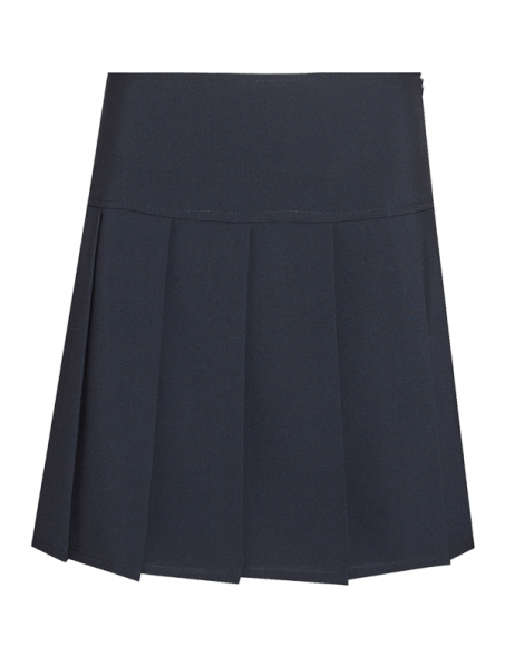 David Luke Senior Girls Back to School Uniform Zip Fastening Academia Straight Skirt