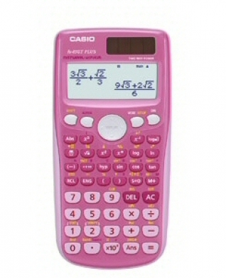 Casio Scientific Calculator FX-85GT PLUS Pink
