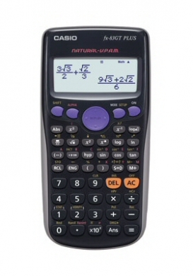 Casio Scientific Calculator FX-83GT PLUS Black