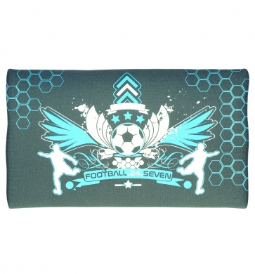 Football Neoprene Pencil Case