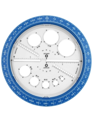 Helix Angle & Circle Maker - Blue