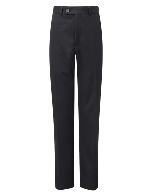 Aspire Boys Slimfit Suit Trouser Black