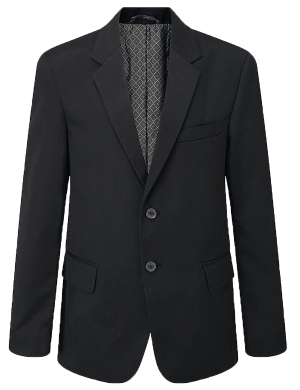 Aspire Boys Suit Jacket Black