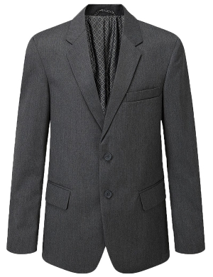 Aspire Boys Suit Jacket Grey