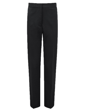 Aspire Girls Slimfit Suit Trouser Black
