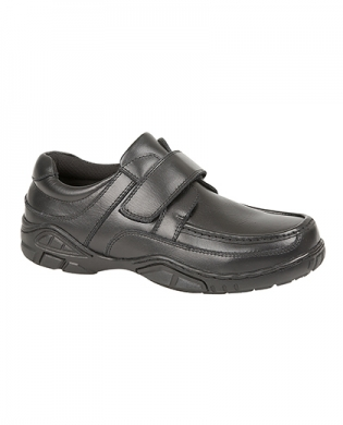 Just Good B803A Leather Velcro Junior Shoe (Clearance)