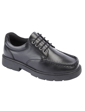 Roamers B882A Leather Lace Up Junior Shoes