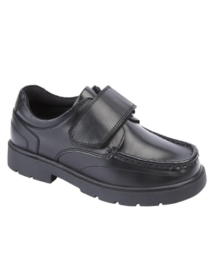 Roamers B883A Leather Velcro Junior Shoe