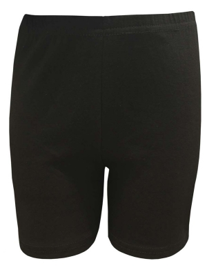 Cycle Shorts Cotton Lycra Black