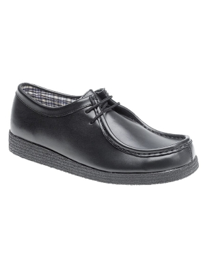 Route 21 B157A Leather Lace Up Junior Shoe