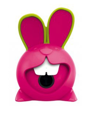 Bunny Innovation 1 Hole Sharpener Pink