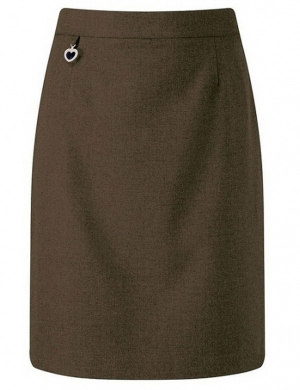 Banner 3643 Amber Junior Skirt Brown (Age 4 - 13)