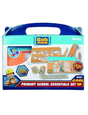 Bob the Builder Primary School Stationery Set - 12 Piece