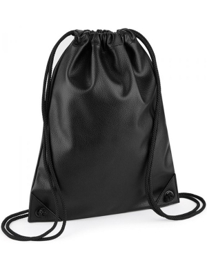BagBase Faux Leather Gymsack