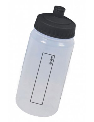 WB13 Drink Bottle with Dust Cap 500ml Black