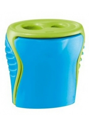 Boogy 2 Hole Sharpener Blue