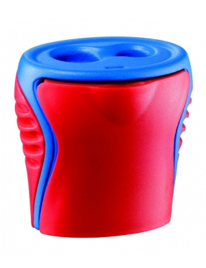 Boogy 2 Hole Sharpener Red