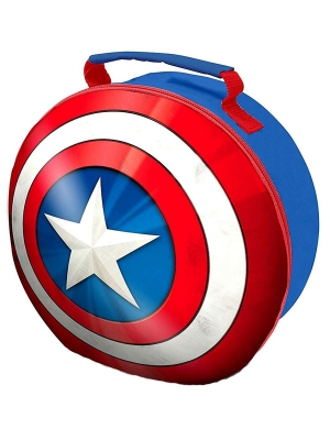 Captain America 3D Lunch Bag