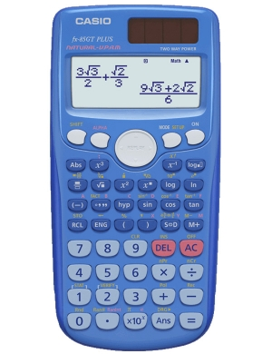 Casio FX-85GT PLUS Scientific Calculator Bright Blue