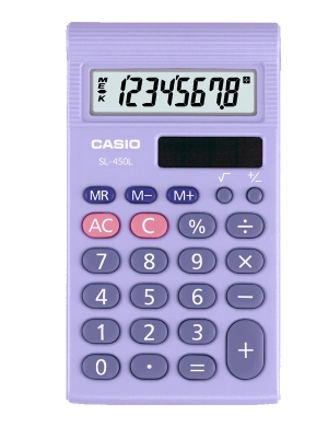 Casio SL-460L-S-UH Pocket Calculator