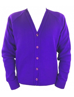 Courtelle Cardigan Purple