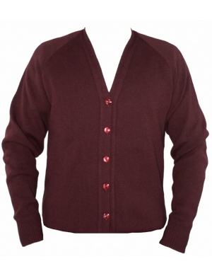 Courtelle Cardigan Vintage Port