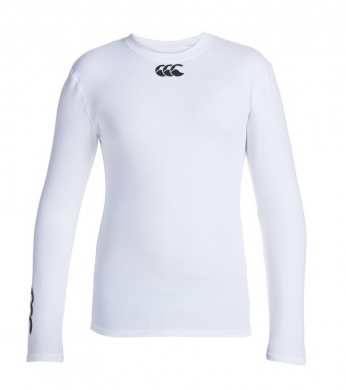 Canterbury Junior Cold Baselayer Top White