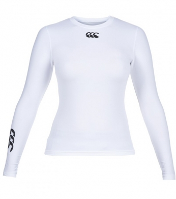 Canterbury Women's Cold Baselayer Top White