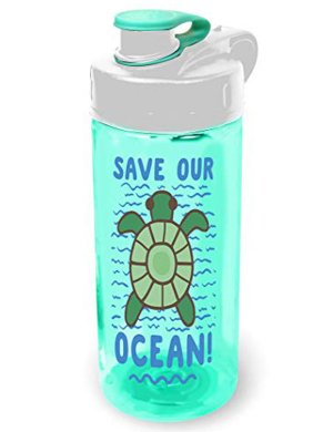 Cool Gear Straightwall Save Our Ocean Bottle 16oz