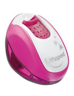 Clean Grip 1 Hole Sharpener Pink