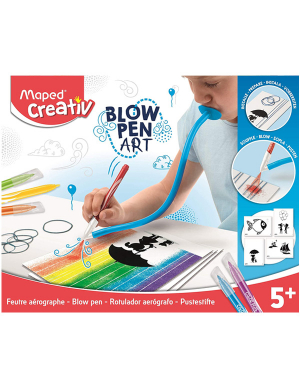 Maped Creativ Color Play - Blowpen Art Fil'Art