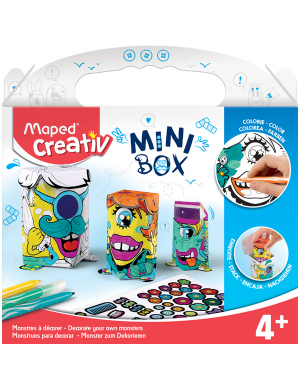 Maped Creativ Mini Box - Monsters to Decorate