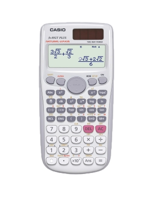 Casio FX-85GT PLUS Scientific Calculator White