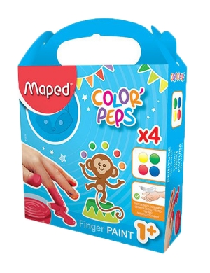 Color'Peps My First Finger Paint 4pk