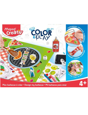 Maped Creativ Color Play - Design My BBQ