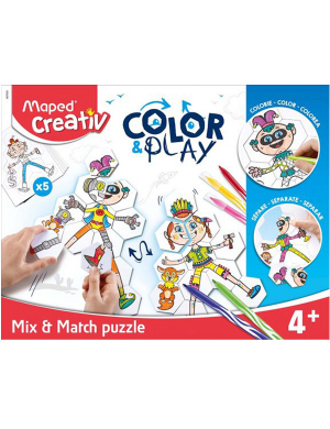Maped Creativ Color Play - Mix & Match Puzzle