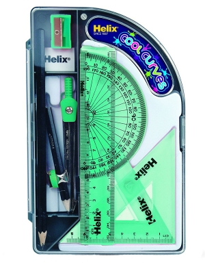 Cool Curves Maths Set - Green