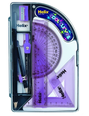Cool Curves Maths Set - Purple