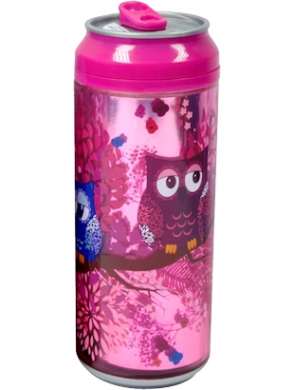Cool Gear Girls Can 16oz Owl