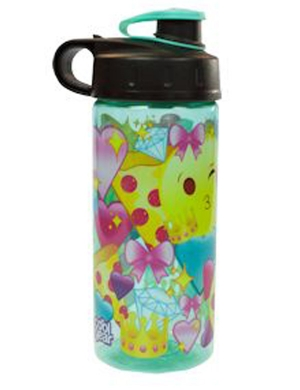 Cool Gear Straightwall Princess Emoji Bottle 16oz