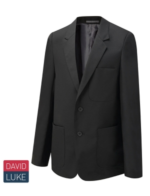 David Luke Boys Eco Premier DL1990 Blazer Black Sturdy Fit
