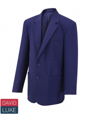 David Luke DL1990 Boys Eco Premier Blazer Royal