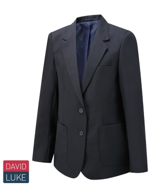 David Luke DL1991 Girls Eco Premier Blazer Navy